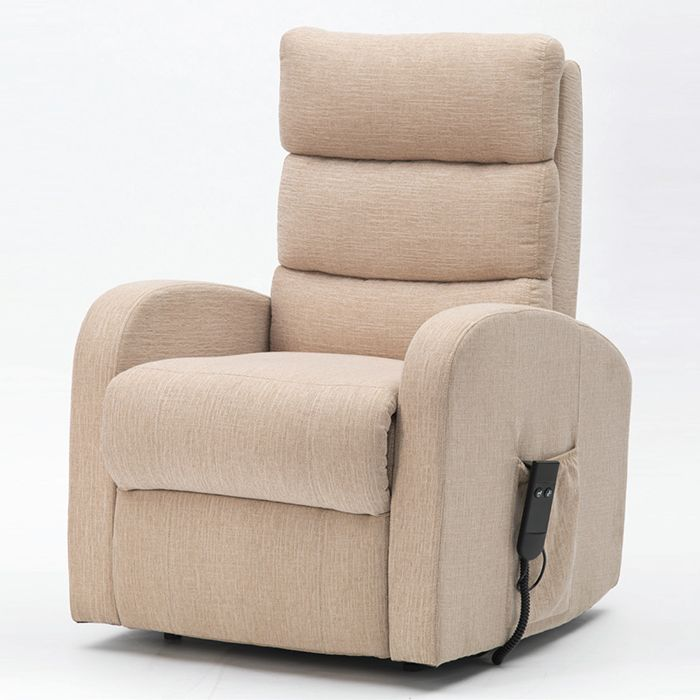 Single Motor Riser Recliner Fabric Finish