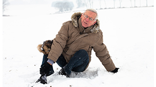 Avoiding Falls In Winter