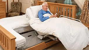 Rotaflex bed - Bed transfers without the need for carers