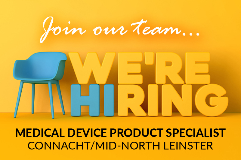 Medical Device Product Specialist - Connacht/Mid-North Leinster