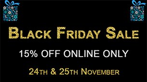15% Off This Black Friday