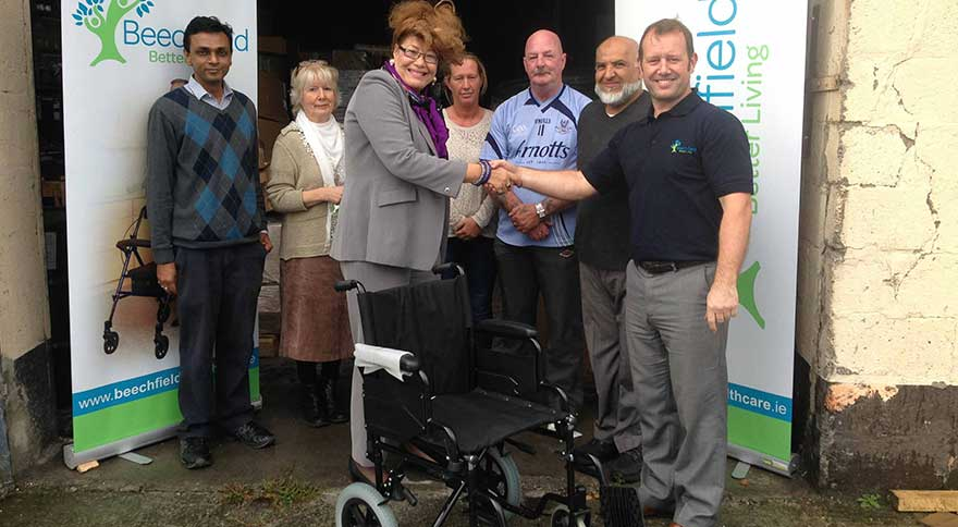 Beechfield Healthcare Send Wheelchairs To Gaza